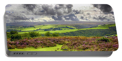 Wild Landscape Of Exmoor, Uk Portable Battery Charger