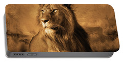 Wild Lion  Portable Battery Charger
