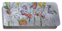 Wild Menagerie  Portable Battery Charger by Gail Butters Cohen