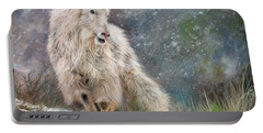 Wild Mountain Goat Portable Battery Charger