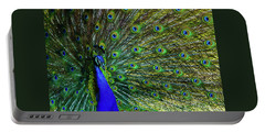 Wild Peacock Portable Battery Charger