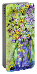 Wild Profusion Portable Battery Charger by Lynda Cookson
