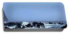 Wild Sea In Madeira Portable Battery Charger