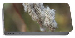 Portable Battery Charger featuring the photograph Wild Seed by Ann E Robson