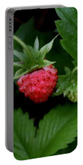Wild Strawberry Portable Battery Charger