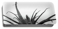 Wild Succulent-  By Linda Woods Portable Battery Charger by Linda Woods