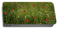 Wild Summer Meadow Portable Battery Charger