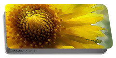 Wild Sunflower Up Close Portable Battery Charger