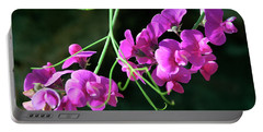 Wild Sweet Peas Portable Battery Charger by Greg Sigrist