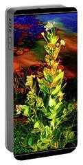 Wild Thai Lake Jasminum - Photo Painting Portable Battery Charger by Ian Gledhill