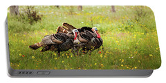 Wild Turkey's Dance Portable Battery Charger