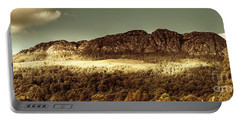 Wild West Mountain Panorama Portable Battery Charger