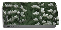 Wild White Indigo Portable Battery Charger by Tim Good
