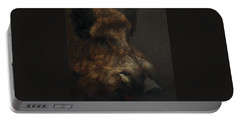 Wildboar Portrait Portable Battery Charger