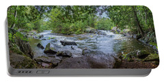 Portable Battery Charger featuring the photograph Wilderness Waterway by Bill Pevlor