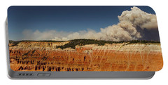 Wildfire Cedar Breaks National Monument Utah Portable Battery Charger