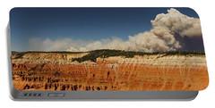 Wildfire Cedar Breaks National Monument Utah Portable Battery Charger