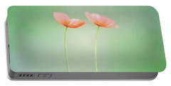 Wildflower Duet Portable Battery Charger