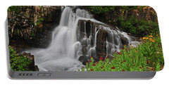 Wildflower Falls Portable Battery Charger
