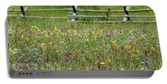 Wildflower Fence Portable Battery Charger