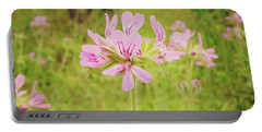 Portable Battery Charger featuring the photograph Wildflower IIi by Cassandra Buckley
