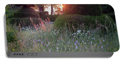 Wildflower Meadow At Sunset, Great Dixter Portable Battery Charger