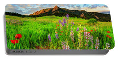Wildflower Mix Portable Battery Charger