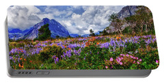 Wildflower Profusion Portable Battery Charger
