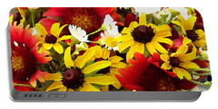 Wildflower Riot Portable Battery Charger