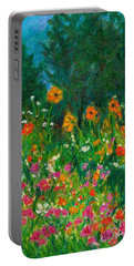 Wildflower Rush Portable Battery Charger