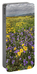 Portable Battery Charger featuring the photograph Wildflower Super Bloom by Peter Tellone