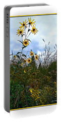 Portable Battery Charger featuring the photograph Wildflowers And Mentor Marsh by Joan  Minchak