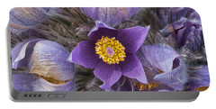 Wildflowers At The Delta Junction Bison Range Portable Battery Charger