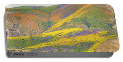 Wildflowers At The Summit Portable Battery Charger