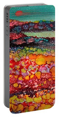 Wildflowers Portable Battery Charger