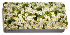 Wildflowers Portable Battery Charger by Holly Kempe