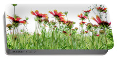 Wildflowers In Geogia Portable Battery Charger