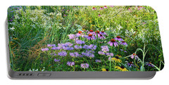 Wildflowers In Moraine Hills State Park Portable Battery Charger