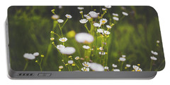 Portable Battery Charger featuring the photograph Wildflowers In Summer by Shelby Young