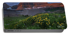 Wildflowers In Timpanogos Basin Portable Battery Charger