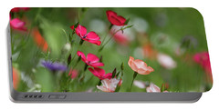Wildflowers Meadow Portable Battery Charger