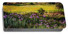 Wildflowers Of The Wichita Mountains Portable Battery Charger