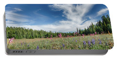 Wildflowers Reach For The Sky Portable Battery Charger