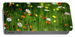 Wildflowers2 Portable Battery Charger