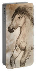 Wildheart Portable Battery Charger by Maria Urso