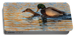 Wildlife Love Ducks  Portable Battery Charger