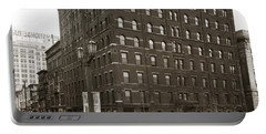 Wilkes Barre Pa Hollenback Coal Exchange Building Corner Of Market And River Sts April 1937 Portable Battery Charger