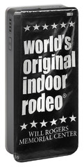 Will Rogers Rodeo Bw Portable Battery Charger