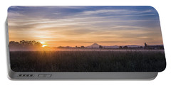 Willamette Valley Sunrise Portable Battery Charger