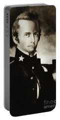 William B Travis - The Alamo Portable Battery Charger